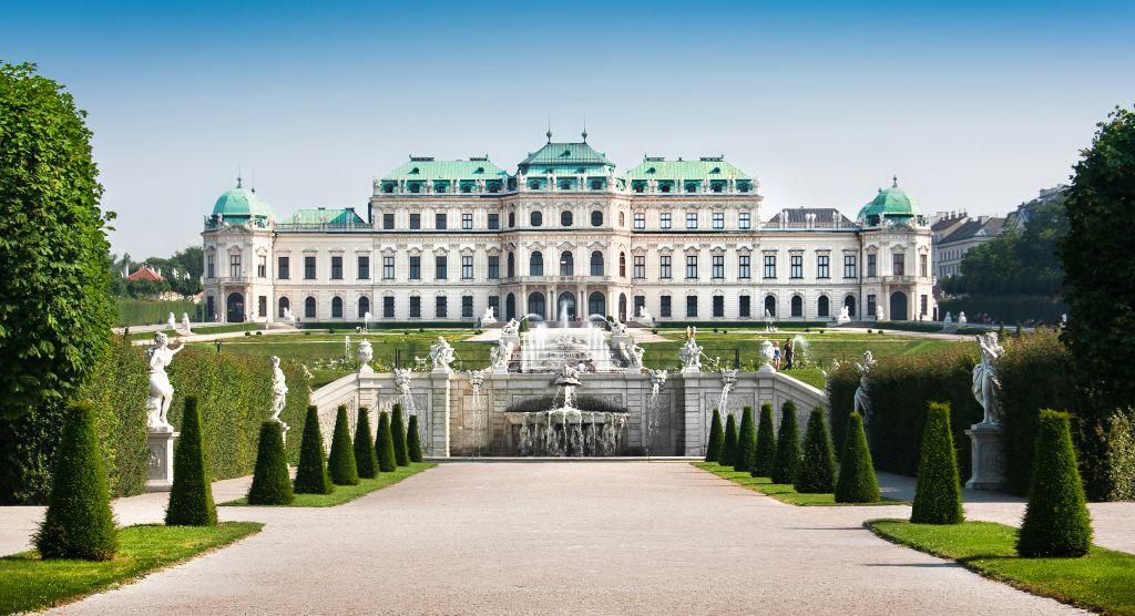 Wien - 3. Bezirk-Landstraße - Schloss Belvedere - Historische Gebäude