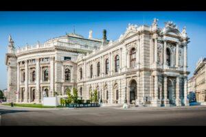 Wien - 1. Bezirk-Innere Stadt - Historisches Gebäude Burgtheater