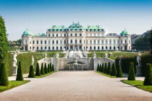 Wien - 3. Bezirk-Landstraße - Schloss Belvedere Historische Gebäude