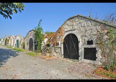 Burgenland - Breitenbrunn - beliebte Kellergasse