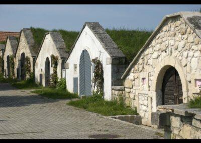 Burgenland - Eine Kellergasse in Burgenland