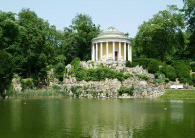 Burgenland - Eisenstadt - Pavillon im Schlosspark