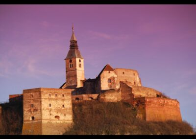 Burgenland - Güssing - Die älteste Burganlage des Burgenlandes