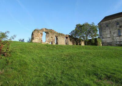 Burgenland - Güssing - Reste der Burg Güssing