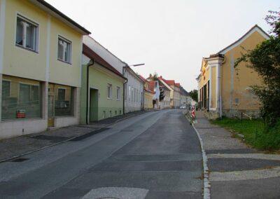 Burgenland - Güssing - Strasse in Güssing