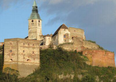 Burgenland - Güssing - älteste Burganlage des Burgenlandes