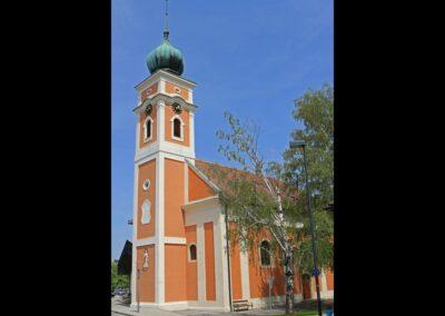 Burgenland - Illmitz - Pfarrkirche