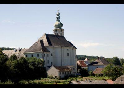 Burgenland - Lockenhaus - Pfarr- und Wallfahrtskirche Hl.Nikolaus