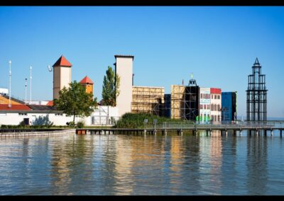 Burgenland - Mörbisch - Kulisse am See