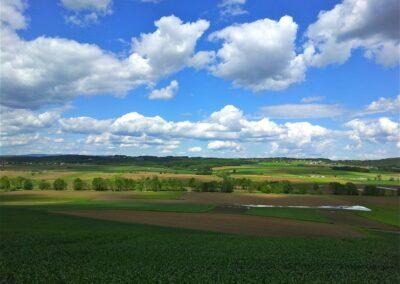 Burgenland - Tobaj - Landschaft um Gemeinde Tobaj