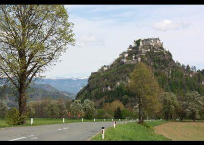Kärnten - Blick auf Burg Hochosterwitz