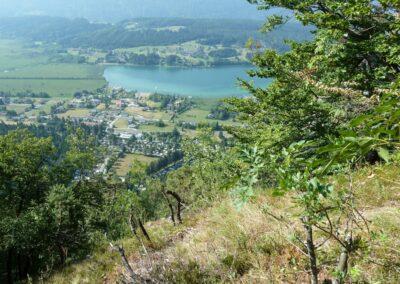 Kärnten - Blick auf den Pressegger See