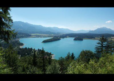 Kärnten - Blick über Faaker See