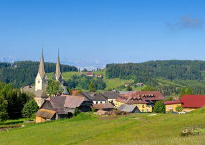 Kärnten - Diex - Landschaft Rund um die Gemeinde 2