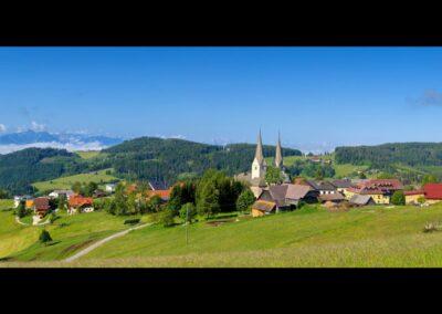 Kärnten - Diex - Landschaft Rund um die Gemeinde