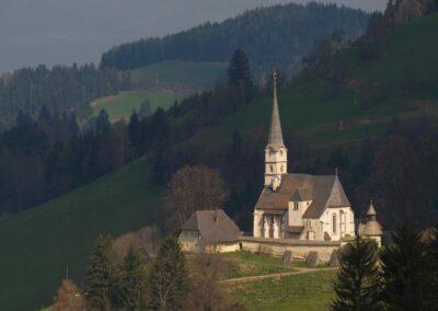 Kärnten - Eberstein - Ortsteil Hochfreistritz