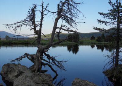 Kärnten - Ein See in der Wanderregion Nockberge