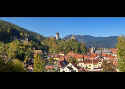 Kärnten - Friesach - Ortsbild von Friesach