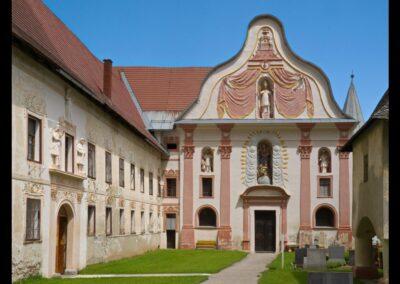 Kärnten - Griffen - ehemaliges Prämonstratenser Chorherrenstift