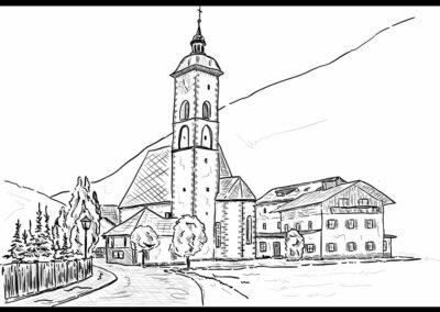 Kärnten - Großkirchheim - Ortsteil Döllach