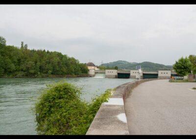 Kärnten - Lavamünd - Laufkraftwerk Lavamünd