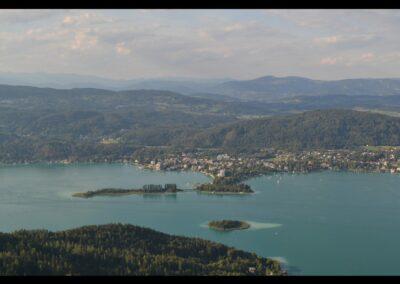 Kärnten - Luftbild von Pörtschach am Wörthersee