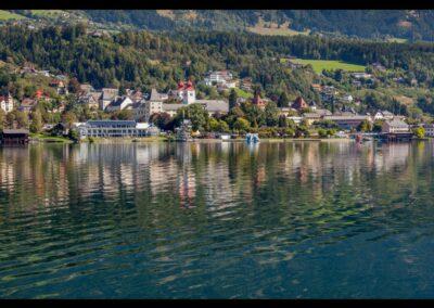 Kärnten - Millstatt - Ortsansicht von Millstatt am Millstätter See