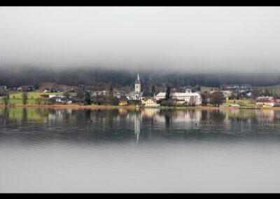 Kärnten - Ossiach - Ortsansicht von Ossiach am Ossiacher See