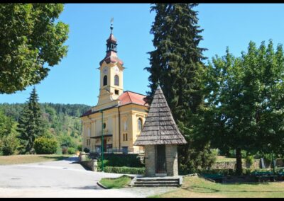 Kärnten - Pörtschach am Wörthersee - Pfarrkirche Hl. Johannes der Täufer