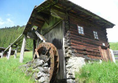 Kärnten - R.F.-Mühle - Alte Wassermühle am Trattenbach