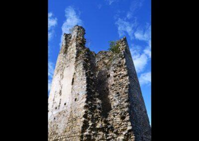 Kärnten - Rosegg - Reste der Burgruine