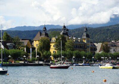 Kärnten - Velden - Schloss am Westufer des Wörthersees