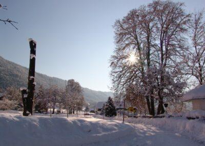 Kärnten - Winterlandschaft am Ossiacher See