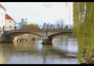 Kärnten - Wolfsberg - Radlsteg Brücke