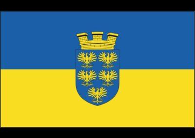 Niederösterreich - Fahne mit Wappen