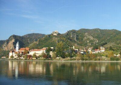Niederösterreich - Dürnstein - Blick auf die Stadt