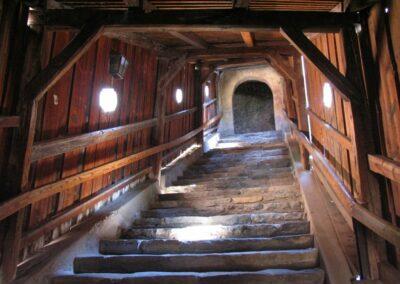 Niederösterreich - Dürnstein - Treppe Ruine Dürnstein