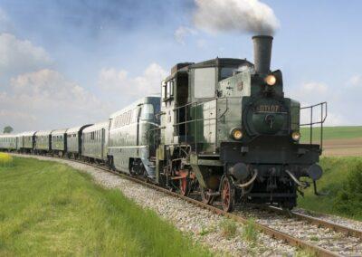 Niederösterreich - Ernstbrunn - Nostalgie Express Leiserberge