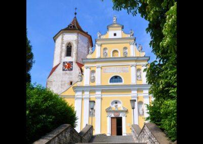 Niederösterreich - Falkenstein - Pfarrkirche zum heiligen Jakobus der ältere