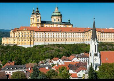 Niederösterreich - Melk - Altstadt mit Stift