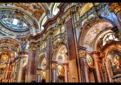 Niederösterreich - Melk - Innenbereich der Siftskirche
