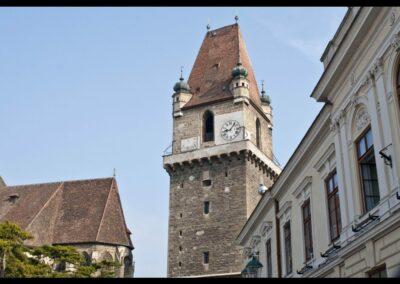 Niederösterreich - Perchtoldsdorf - Fünfgeschossiger Wehrturm
