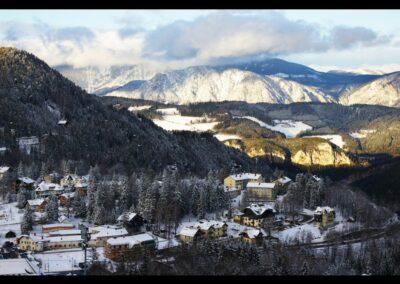 Niederösterreich - Semmering - Luftkur- und Fremdenverkehrsort Semmering im Winter