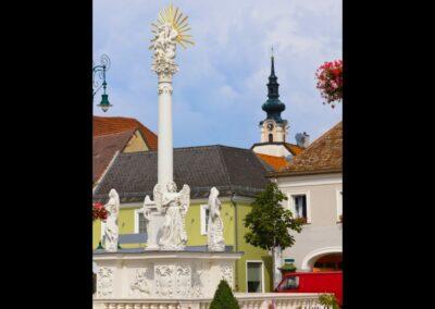 Niederösterreich - Tulln - Statue am Hauptplatz