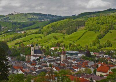 Niederösterreich - Waidhofen an der Ybbs - Blick auf die Innenstadt