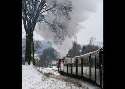 Niederösterreich - Waldviertler Schmalspurbahn im Winter