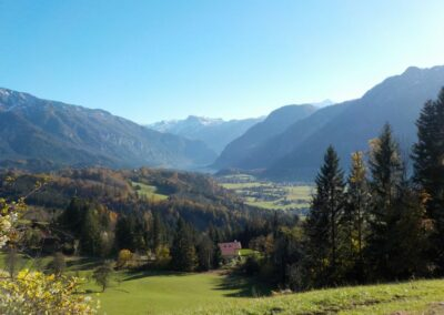 Oberösterreich - Blick zum Dachstein