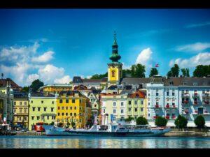 Oberösterreich - Gmunden - Blick auf die Stadt