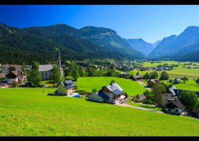 Oberösterreich - Gosau - Panoramablick