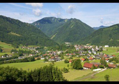 Oberösterreich - Großraming - Panoramabild der Gemeinde